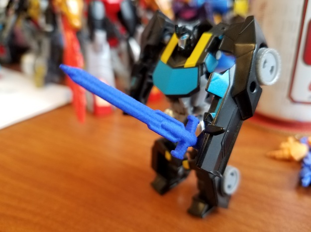 3mm Robots in Disguise Bumblebee's Sword