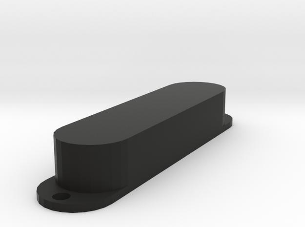 Strat PU Cover, Single, Closed in Black Premium Versatile Plastic