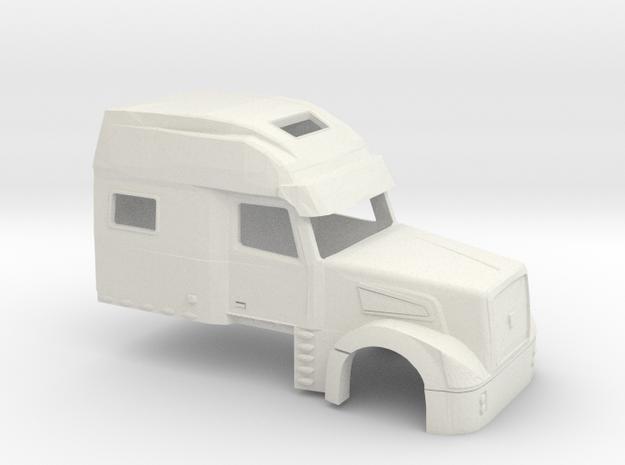 1/32 Volvo VT 880 Cab in White Natural Versatile Plastic