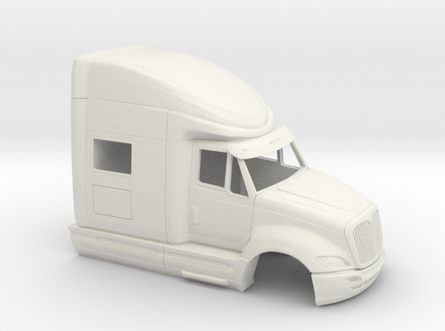1/32 International Prostar Cab in White Natural Versatile Plastic