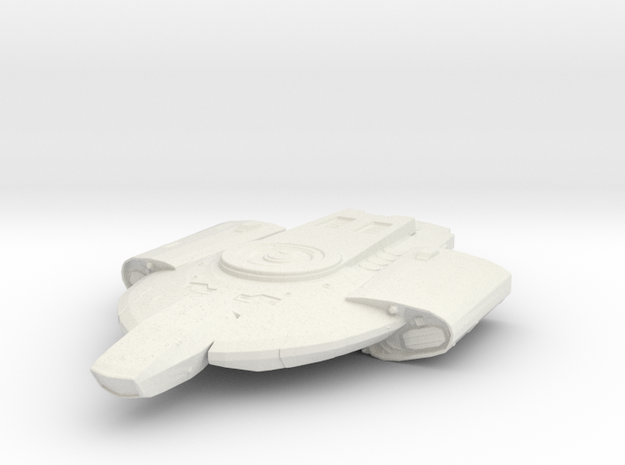 Federation Defiant class 1:1000 in White Natural Versatile Plastic