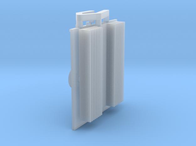Eaglemoss delorean radio heatsink 1:8 in Smoothest Fine Detail Plastic