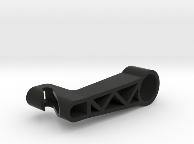 Alexa Focus Hook in Black Natural Versatile Plastic
