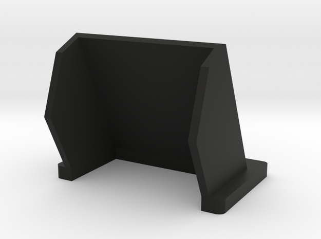 Preston HU-3 Sunshade (25 degree) in Black Natural Versatile Plastic