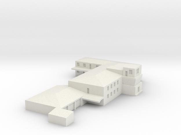 Airport Operations Building  in White Natural Versatile Plastic: 1:400