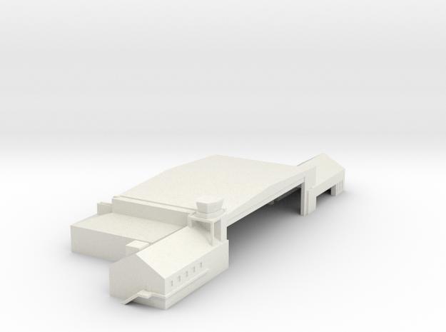 Hanger 1  in White Natural Versatile Plastic: 1:400