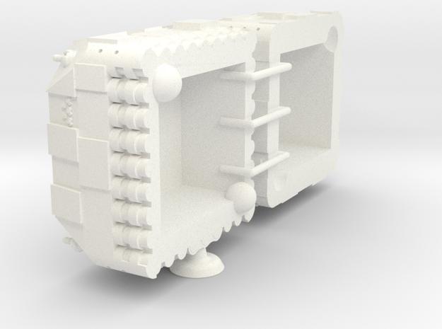 Fethiye Class Heavy Battler - 1:20000 in White Processed Versatile Plastic