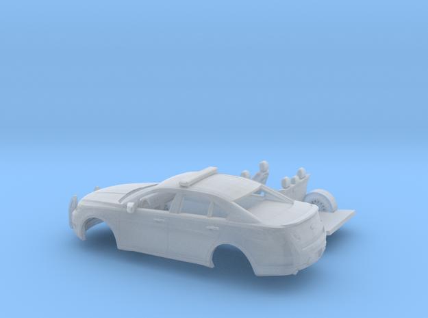 1/160 2009-12 Ford Taurus Police Interceptor Kit in Smooth Fine Detail Plastic