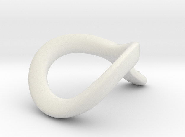 JNaja CRing 50MM - 1.97INCH in White Premium Versatile Plastic