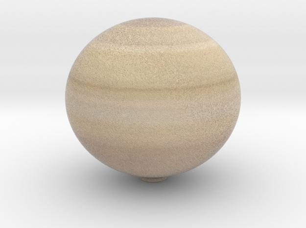 Saturn 1:0.7 billion in Full Color Sandstone