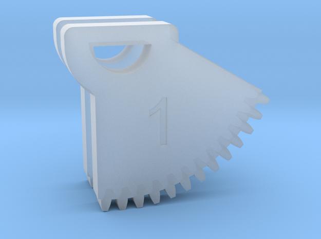 N64 Gear Teeth V1 in Smoothest Fine Detail Plastic