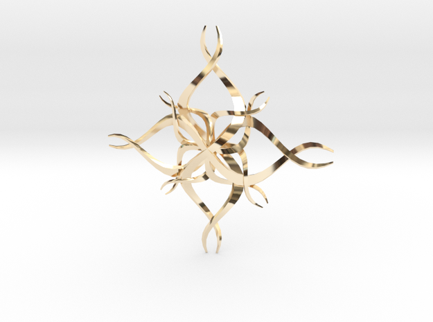 Clover in 14K Yellow Gold