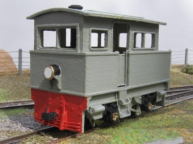 00n3 Atkinson Walker Steam Tractor in Smooth Fine Detail Plastic
