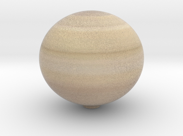 Saturn 1:1.5 billion in Full Color Sandstone