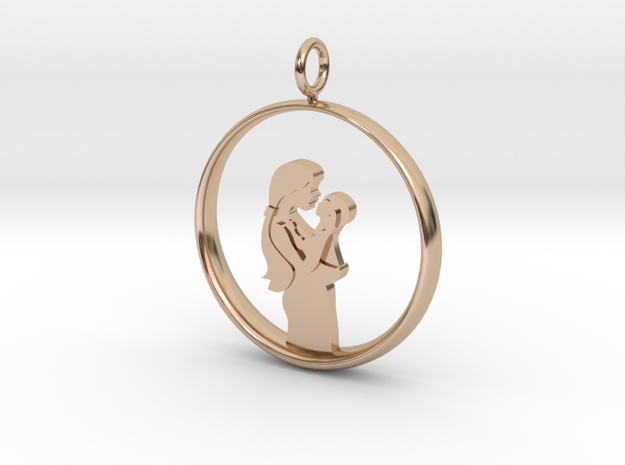 Mother & Infant Pendant -Motherhood Collection