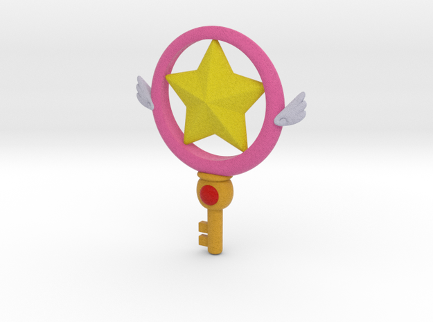 Star Key (clean key version) in Full Color Sandstone