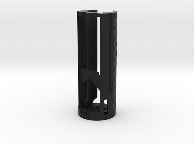 SF-Cerberus-A1 in Black Natural Versatile Plastic