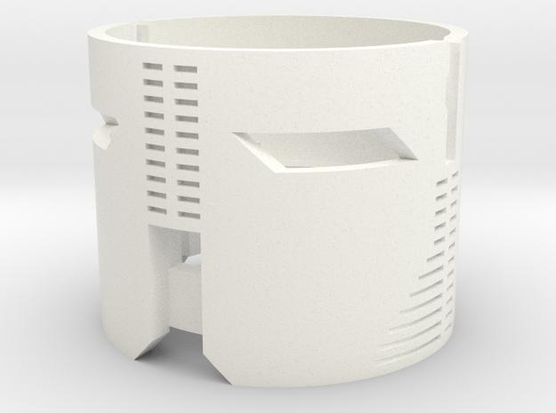 Graflex2.0 Part 3/4 - Speakerholder in White Processed Versatile Plastic
