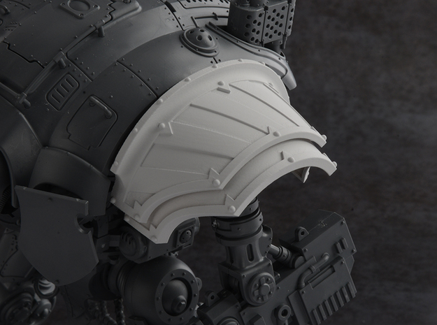 Hazard Warriors - Left Shoulder Pad
