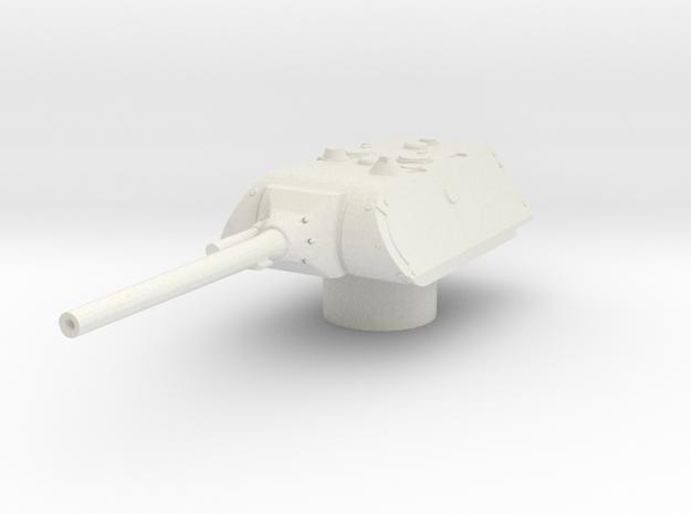 maus turret for E100 scale 1/100 in White Natural Versatile Plastic