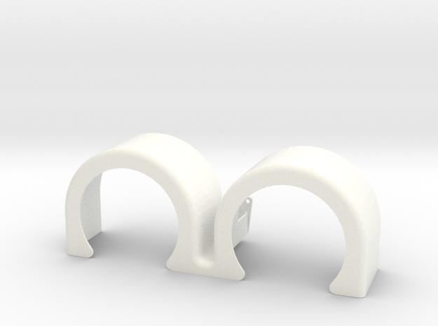 double hump fender 2 in White Processed Versatile Plastic: 1:14