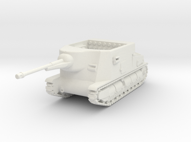 Somua S35 CA  1:87 in White Natural Versatile Plastic