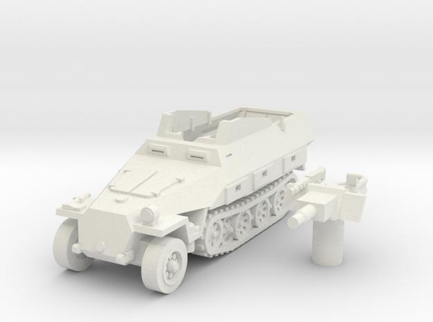sdkfz 251 D9 scale 1/87 in White Natural Versatile Plastic