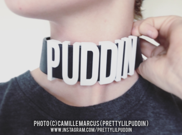 Sliding Letters - PUDDIN Bundle