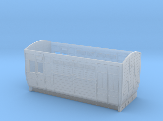 GER Horse box Dia 28 in Smoothest Fine Detail Plastic