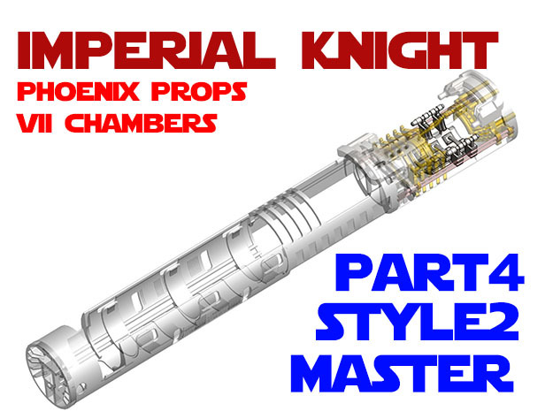 Imperial Knight - Master Part4 Style2 in White Natural Versatile Plastic
