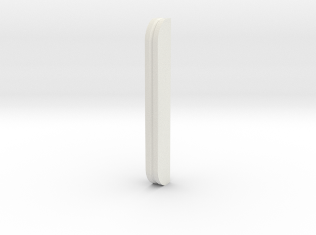 Alco NH low profile S1/S2 cab rear handrail jig in White Natural Versatile Plastic