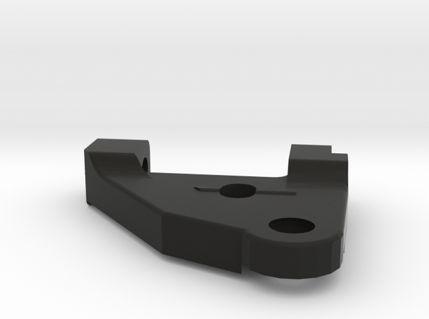 FR02 Racer - Right Lower Arm in Black Natural Versatile Plastic