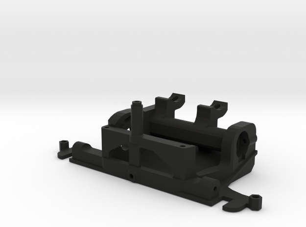 FR02 Motor Mount in Black Natural Versatile Plastic