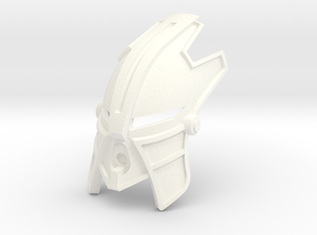 Kanohi Nakan in White Processed Versatile Plastic