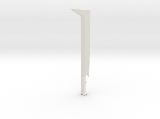 orc sword in White Natural Versatile Plastic