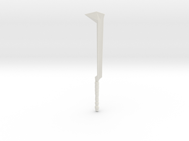 orc sword 3 in White Natural Versatile Plastic