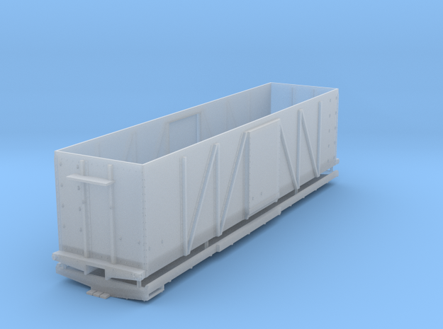 EBT Steel Box Car HOn3 in Smooth Fine Detail Plastic