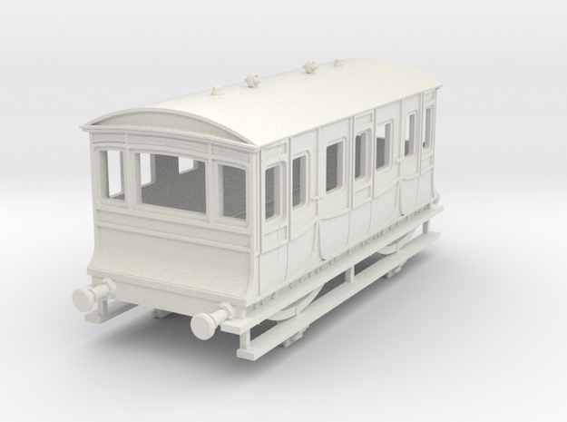 o-100-kesr-royal-saloon-coach-1 in White Natural Versatile Plastic