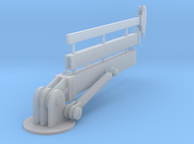 Hydraulic Crane Boom Z scale1 in Smooth Fine Detail Plastic