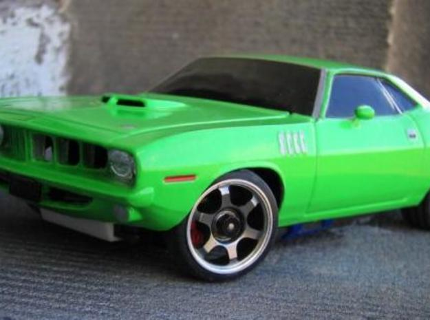 Mini-z Cuda in White Strong & Flexible