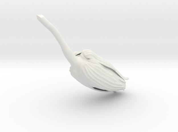 FLO_for_braslet in White Natural Versatile Plastic