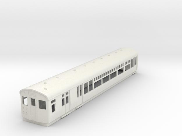 O-87-lner-lugg-3rd-motor-coach in White Natural Versatile Plastic