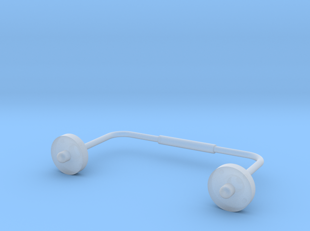 1:7.6 Ecureuil AS350 / Antenna 01 in Smooth Fine Detail Plastic