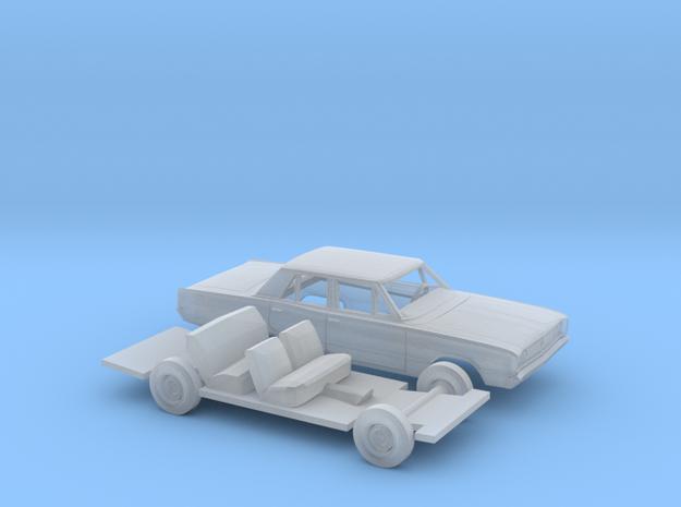 1/87 1968 Dodge Coronet Sedan Kit in Smooth Fine Detail Plastic