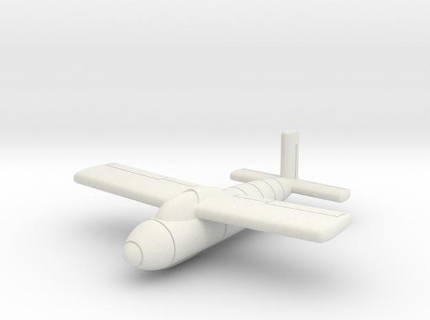 (1:144) Messerschmitt Me P.1103/II in White Natural Versatile Plastic
