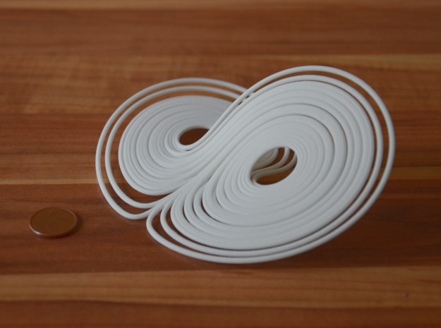 Lorentz attractor 100mm 3d printed