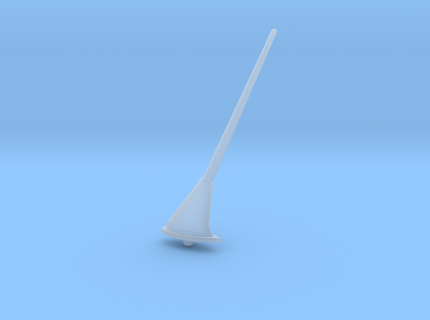1:7.6 Ecureuil AS 350 / Antenna 04 in Smooth Fine Detail Plastic