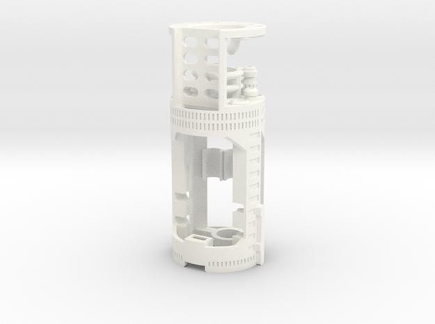 Graflex2.0 Part 2/4 - BoardChamber NB V3/V4 in White Processed Versatile Plastic