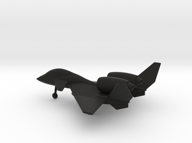 PZL-230D Skorpion in Black Natural Versatile Plastic: 1:160 - N