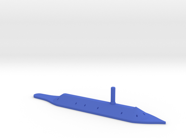 1/1200 CSS Virginia / Merrimack in Blue Processed Versatile Plastic